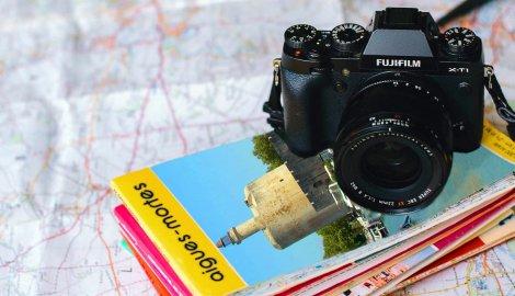 Brochures plans appareil photo
