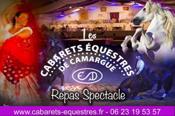 Cabaret équestre de Camargue et ses animations