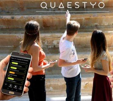 Jeunes téléphones jeu Quaestyo