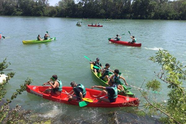 Base Nautique Kayak Vert Camargue