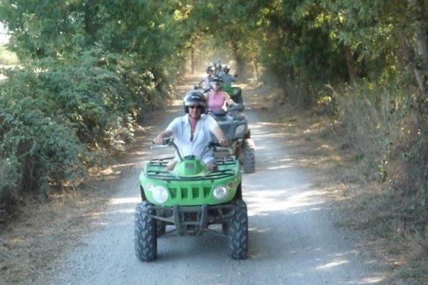 La Camargue en quad avec Camargue Découverte