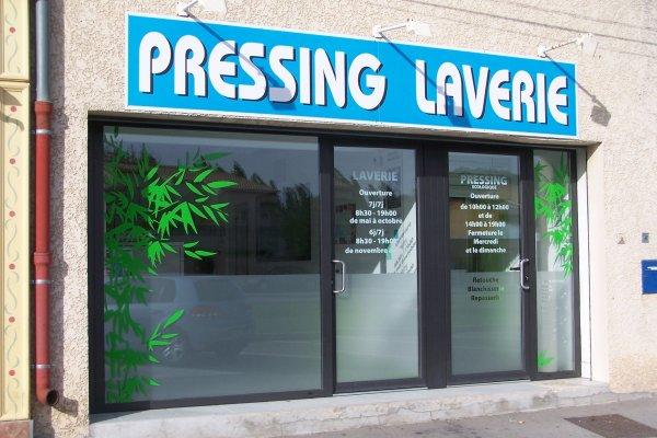 Pressing Laverie Bleu Camargue
