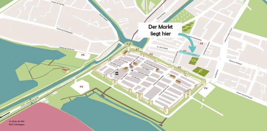 Plan marché D
