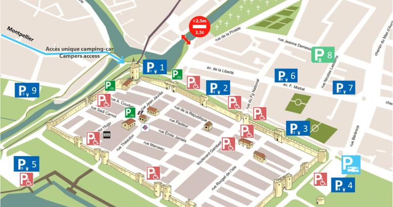 Plan parking 2021