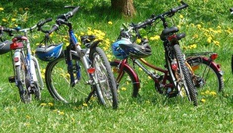 vélo nature famille